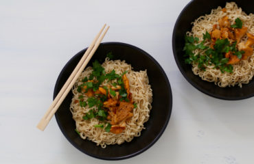 Chanterelle noodles