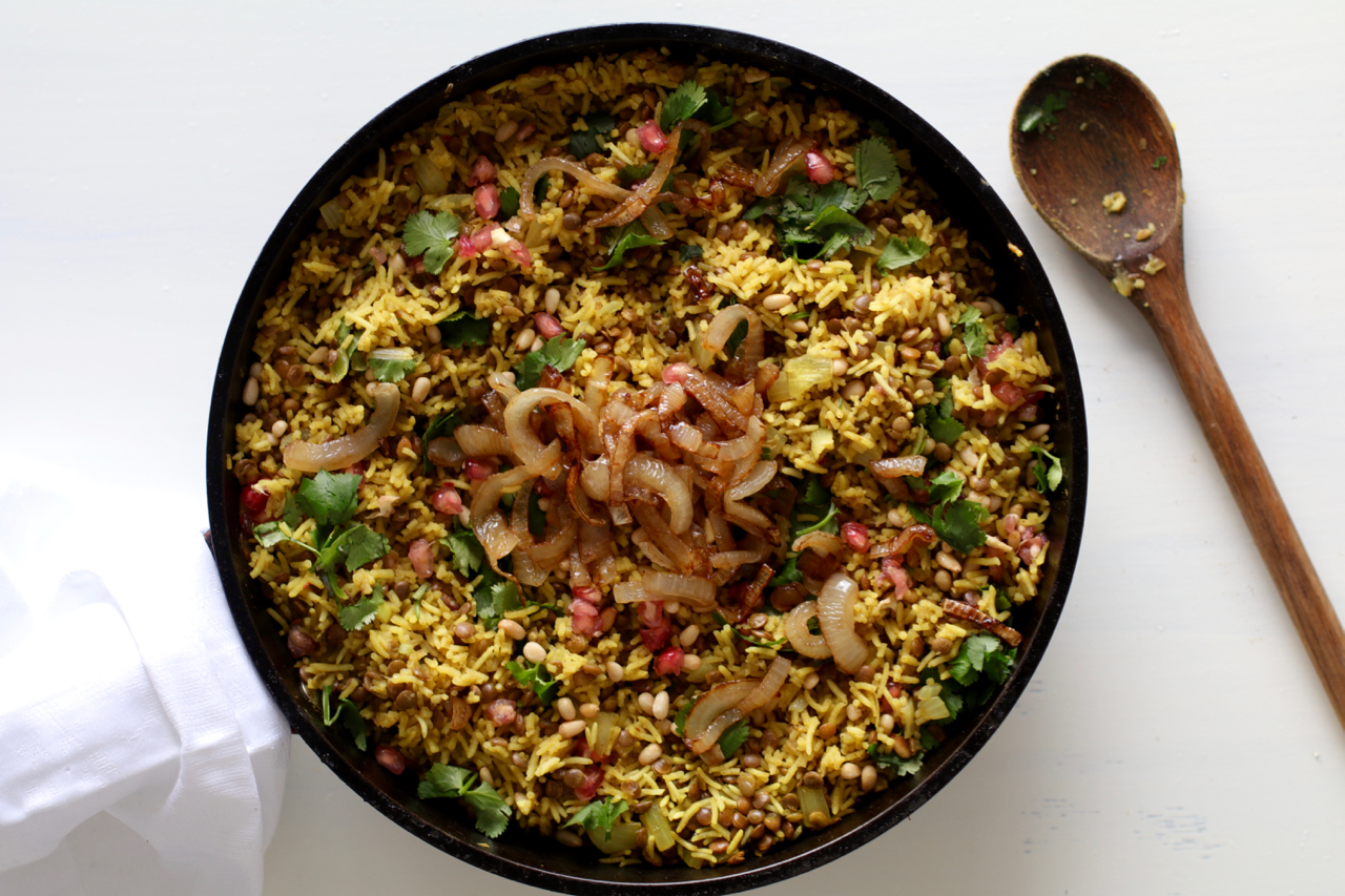 Middle eastern fried rice