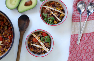 Black Bean Tortilla Stew