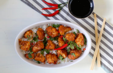 STICKY SESAME CAULIFLOWER WINGS