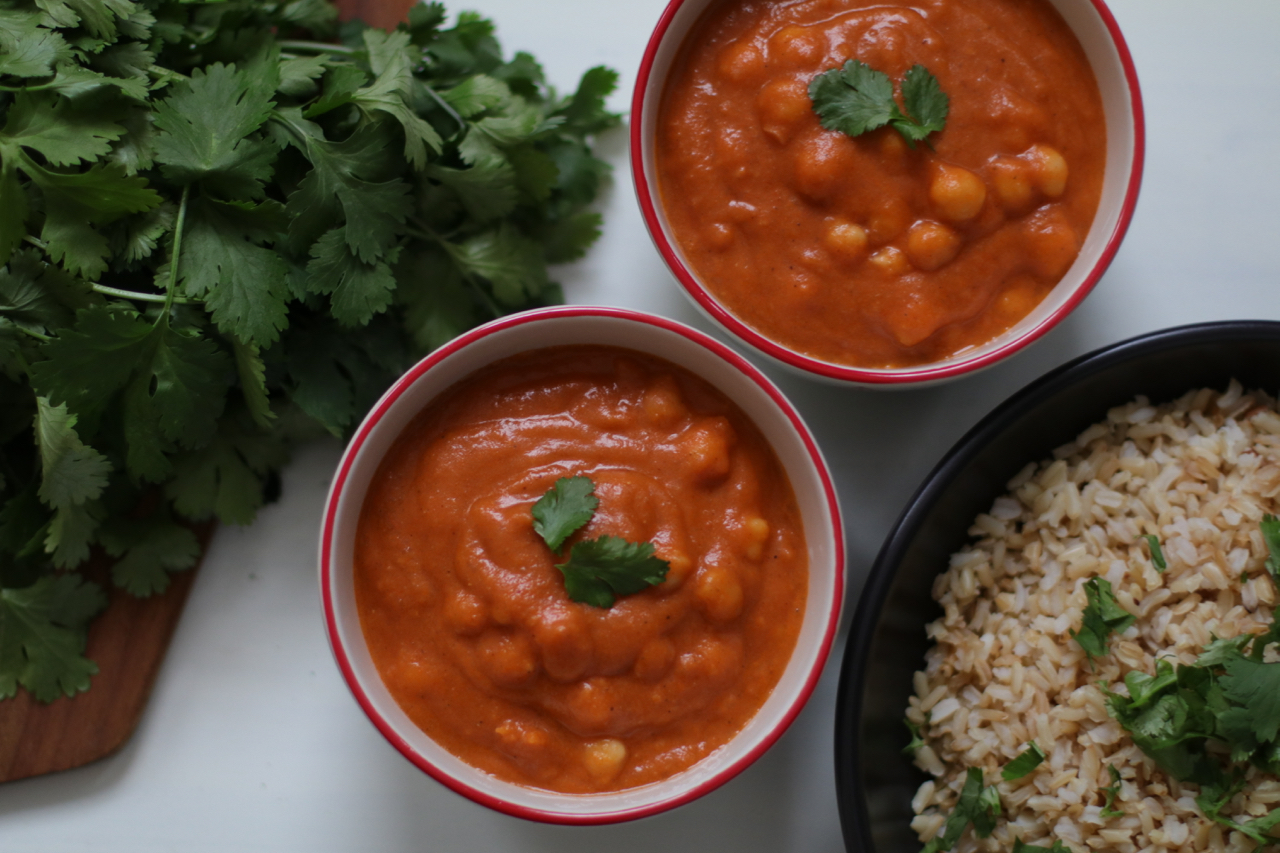 Simple Chickpea Tikka Masala
