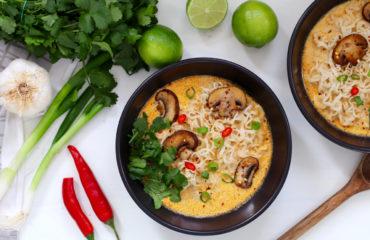 Thai Peanut Ramen
