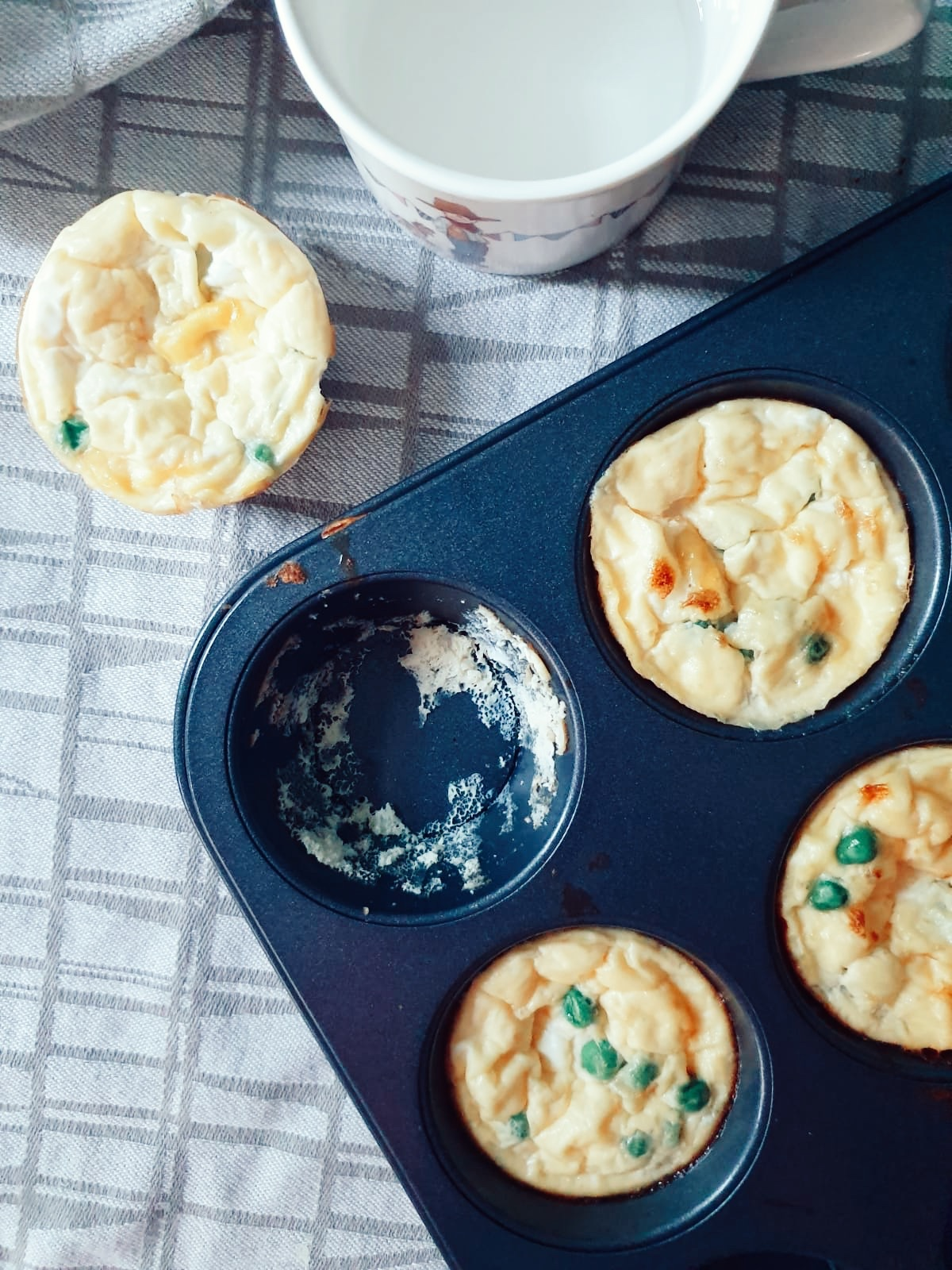 Egg muffins for baby