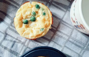 Healthy egg muffins for baby